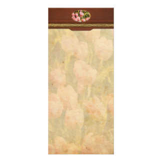 Tulips - A field of pink Rack Card
