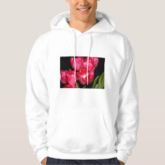 Tulips Adult Hooded Sweatshirt
