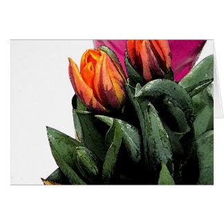 Tulips Again Card