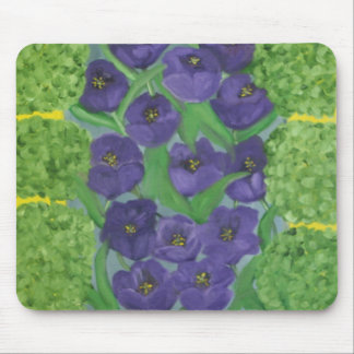 Tulips and Boxwood Mouse Mats