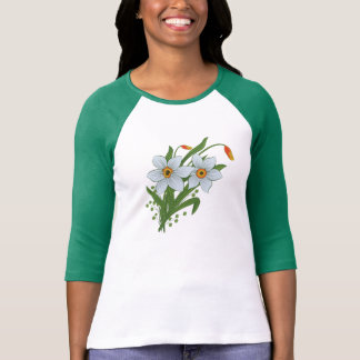 Tulips and Daffodils Flowers T-Shirt