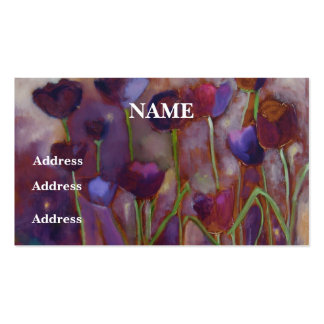"""""""Tulips And Fireflies"""" -  Business Cards"""