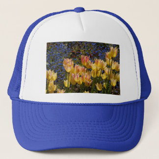 Tulips and Forget-me-nots Trucker Hat