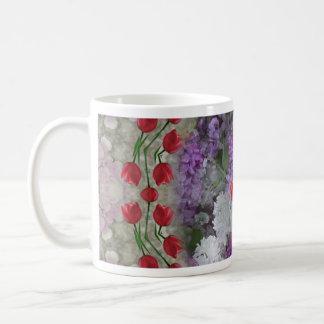 Tulips and Lilacs 2 Mugs