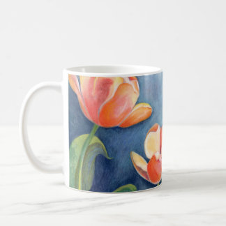 Tulips and Monarch Butterfly Coffee Mug