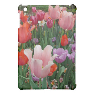Tulips and Pansies 2 Cover For The iPad Mini