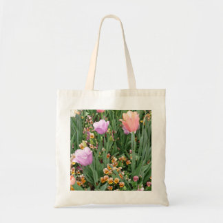 Tulips and Pansies Bag
