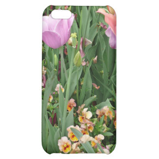 Tulips and Pansies Case For iPhone 5C