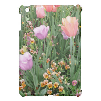 Tulips and Pansies Case For The iPad Mini