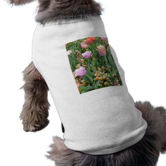 Tulips and Pansies Pet Shirt