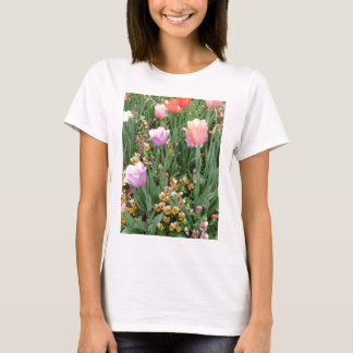 Tulips and Pansies T-Shirt