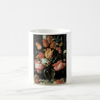 Tulips and Roses Floral Fine Art Mug