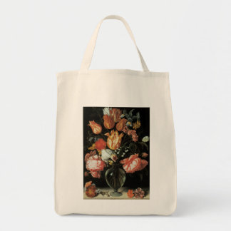 Tulips and Roses Floral Fine Art Tote Bag