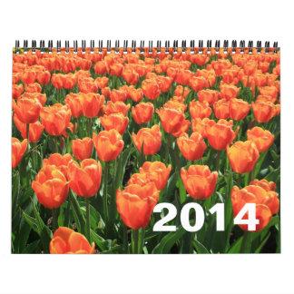 Tulips and Windmills 2014 Calendar
