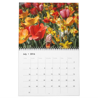 Tulips and Windmills Calendar