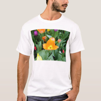 Tulips at the Eden Project, Cornwall, UK T-Shirt