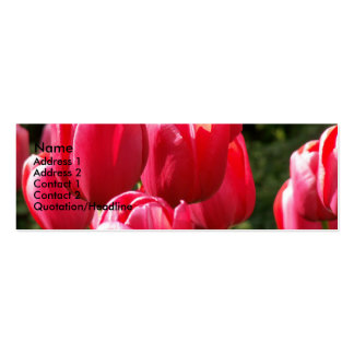 Tulips Business Card Templates