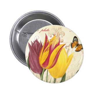 Tulips Pinback Buttons