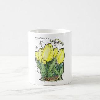 Tulips by ArtPatient Coffee Mug