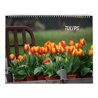 Tulips Calendar