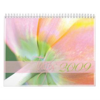 Tulips Calendar 2009