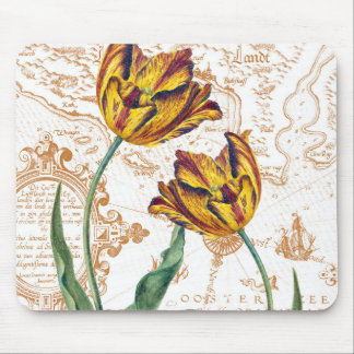 Tulips Chic Mouse Pad