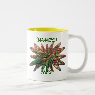 Tulips Collapsing Design Customizable Mug