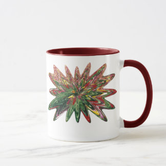 Tulips Collapsing Design Ringer Mug