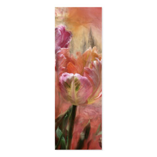 Tulips - Colors Of Love Art Bookmark Mini Business Card