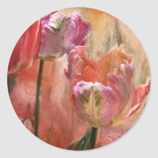 Tulips - Colors Of Love Art Sticker