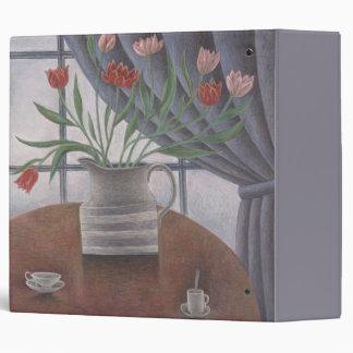 Tulips Curtain Cups 2002 Binder