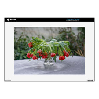 tulips decal for laptop