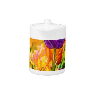 Tulips Enchanting 01 Teapot