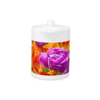 Tulips Enchanting 12a Teapot