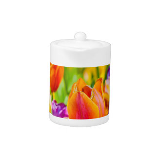 Tulips Enchanting Teapot