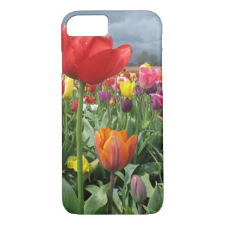 Tulips Field iPhone 7 Case