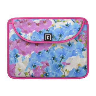 Tulips Floral Pattern Macbook Pro Laptop Sleeve
