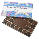 Tulips Floral Personalizable Chocolate box