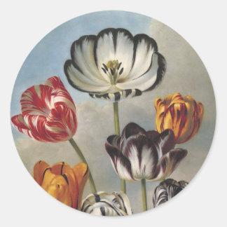 Tulips Floral Sticker Envelope Seal