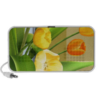 Tulips Flower Spring Vector Picture add text Notebook Speakers