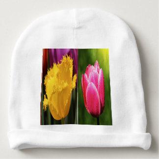 Tulips Flowers Baby Beanie
