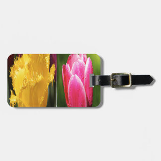 Tulips Flowers Luggage Tag