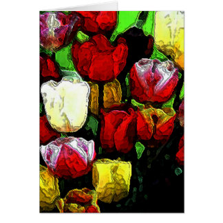 Tulips for Mom Card