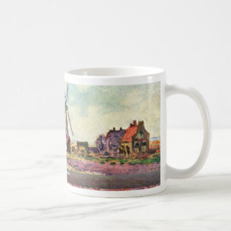 Tulips From Holland By Claude Monet Classic White Coffee Mug