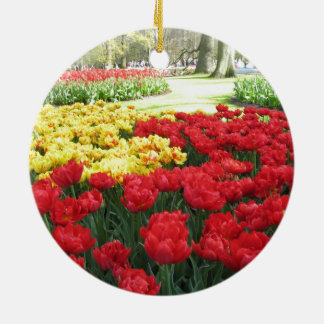 Tulips from Holland Ceramic Ornament
