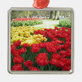 Tulips from Holland Metal Ornament