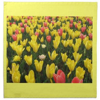 Tulips from Holland, Springtime at Keukenhof Napkin