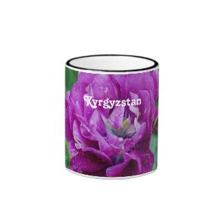 Tulips from Kyrgyzstan Ringer Coffee Mug