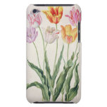 Tulips, from the 'Nassau Florilegium' (w/c on pape Barely There iPod Cover