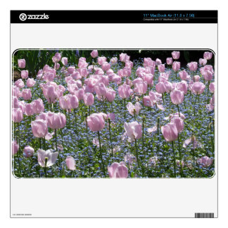 "Tulips Garden Skins For 11"" MacBook Air"